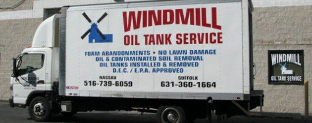 Windmill Oil Tank Service